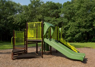Outdoor playground at Maple Shade, NJ Apartment